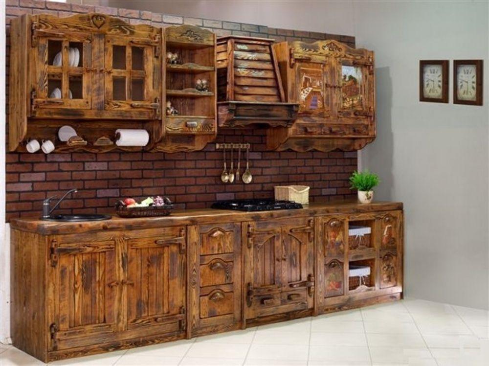 Кухня из Дерева Своими Руками (210+ Фото) - Как Сделать ...