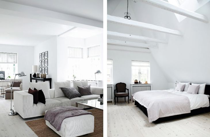 design attractor: Beautiful Minimalistic Scandinavian House