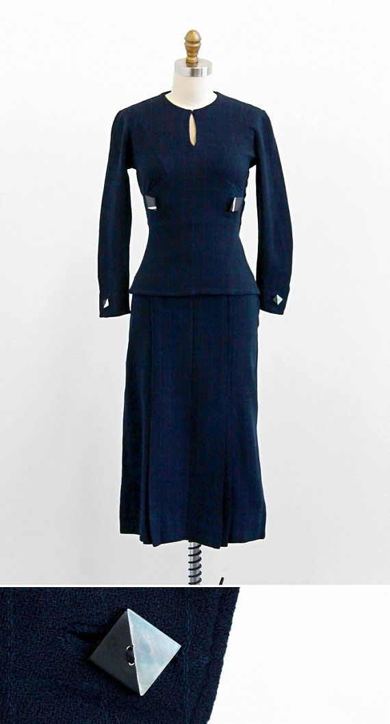 Your Place To Buy And Sell All Things Handmade Vintage 1930s Dress 1930s Dress Vintage Inspired Dresses