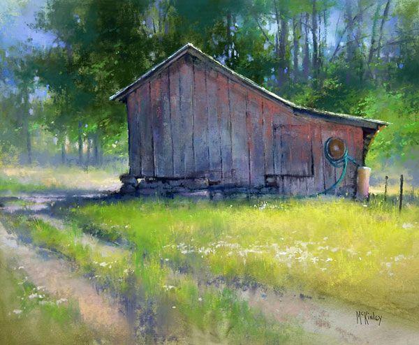 Richard Mckinley Landscape Paintings Pastel Landscape Landscape Art