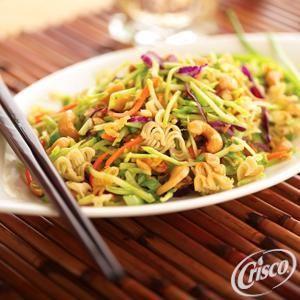 Asian Peanut Broccoli Salad from Crisco®
