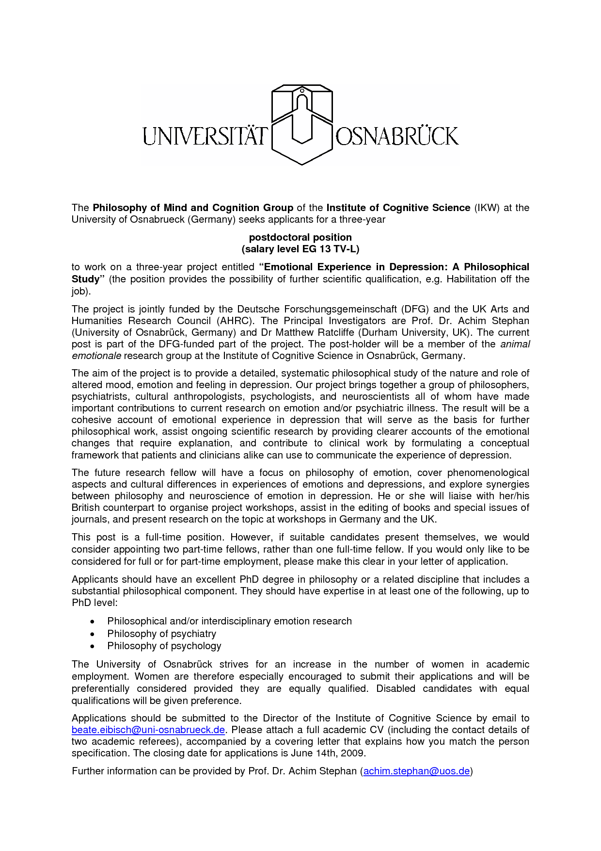 Postdoc Cover Letter Awesome Postdoc Cover Letter Sample Biology