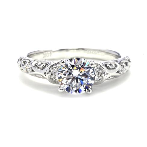 Artcarved Peyton Filigree Engagement Ring Antique