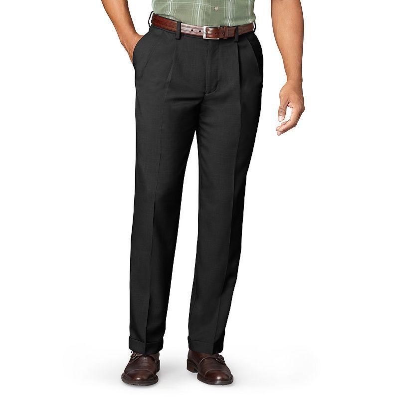 Men's Van Heusen® No Iron Extender Pleated Pants Big & Tall