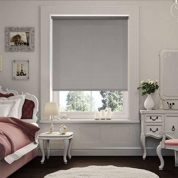 Sevilla Tranquility Dove Blackout Roller Blind From Blinds 2go Living Room Blinds Fabric Blinds House Blinds