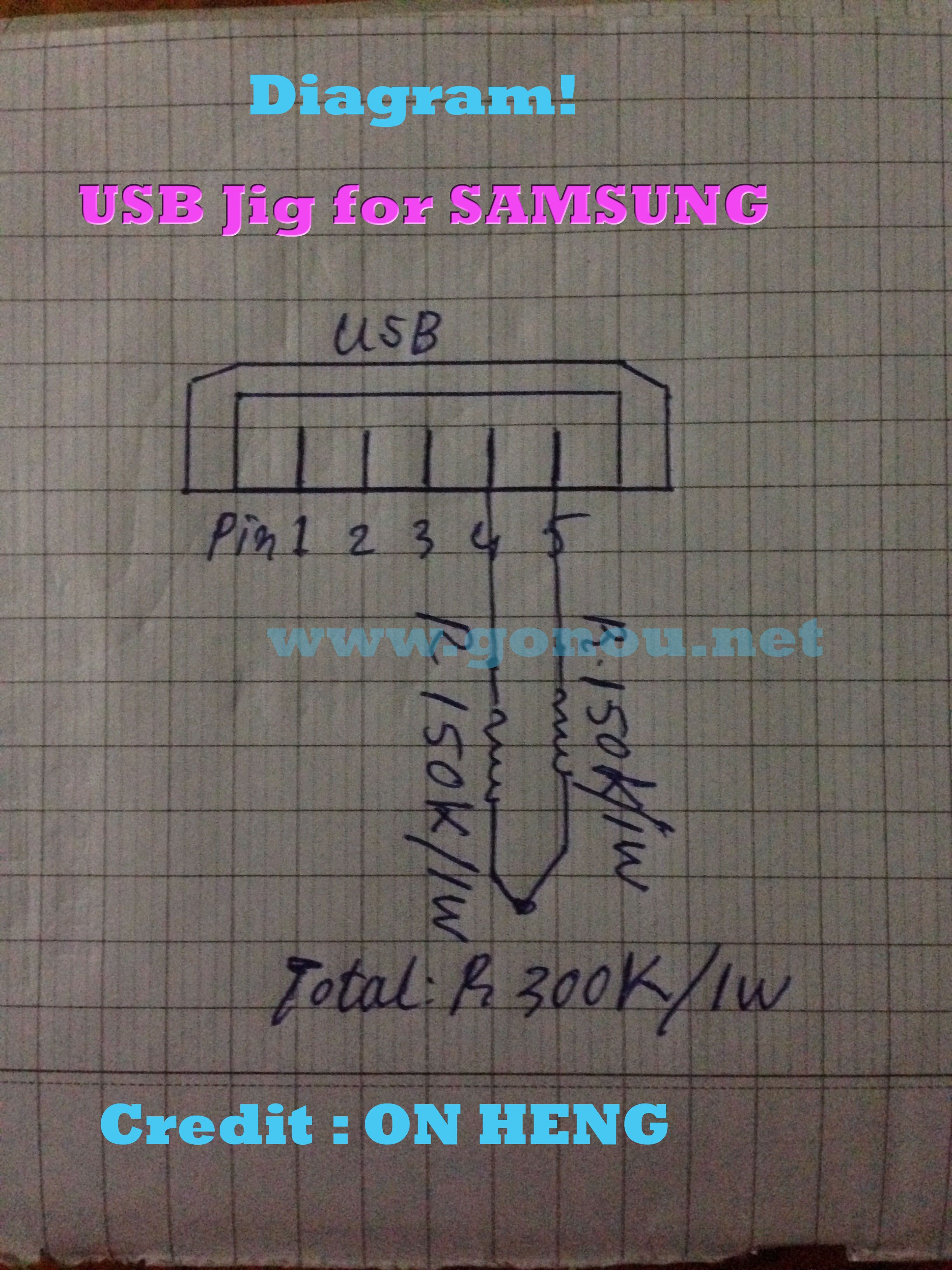 medium resolution of diagram usb jig for samsung you may look for about how to make a
