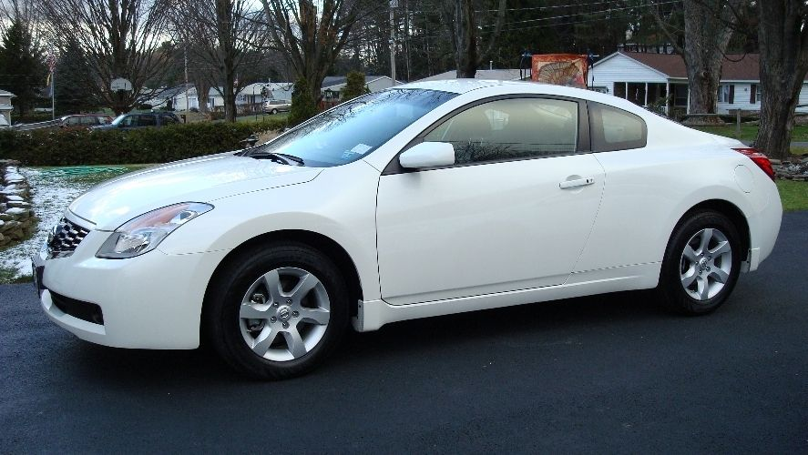 My Ride A 2009 Nissan Altima S Coupe The One Pictured Is Not Actual Car