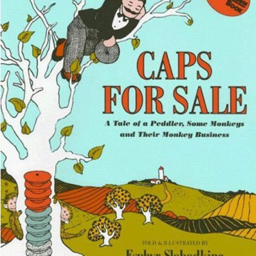 Caps for Sale by Esphyr Slobodkina, read by me for We Read it Like This and Story Time