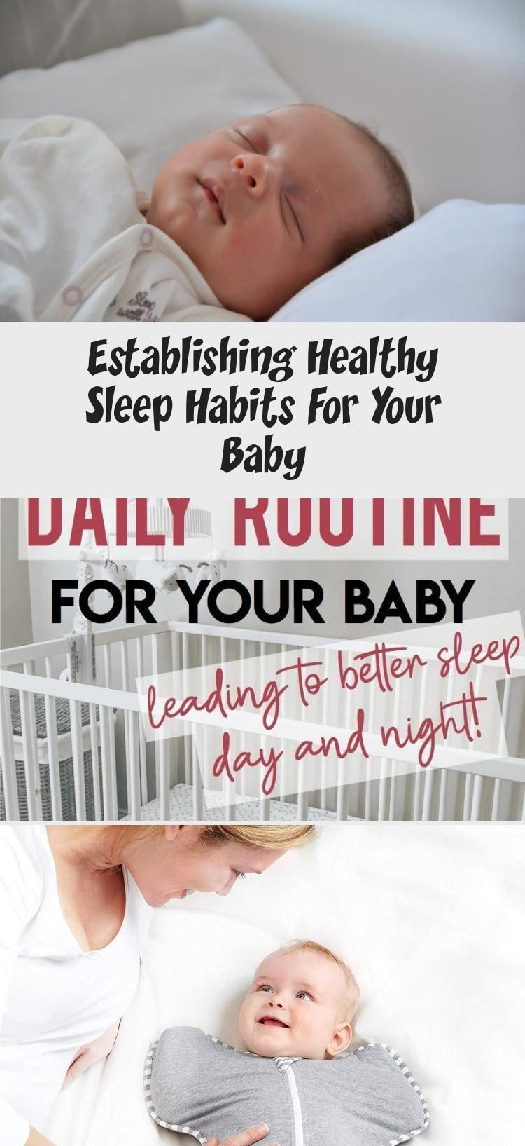 Establishing Healthy Sleep Habits For Your Baby - health and diet fitness -  Starting healthy sleep...