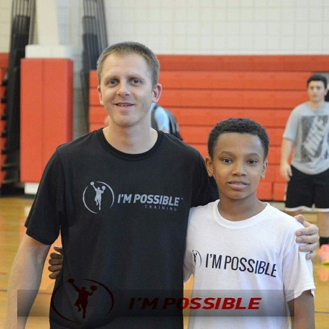Got that work in this week with  @trainimpossible .  #ballislife #impossibletraining #basketball #gabe3x #nodaysoff #dontbegoodbegreat #follow4follow #trainimpossible #stayhungry #youngestdoinit #trainpossible #striveforgreatness #blindforlife