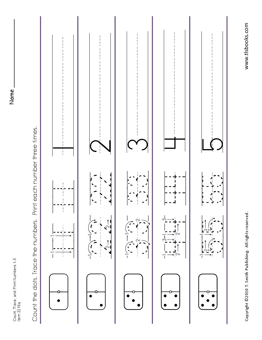 Count Trace And Print Numbers 1 20 Numbers Preschool Math Number Sense Math Numbers