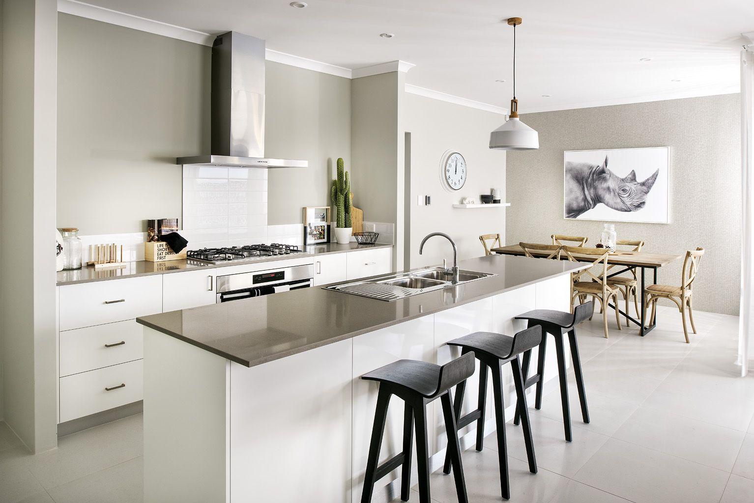 Gourmet Kitchen - Homebuyers Centre Bohemian Display Home - Banjup ...