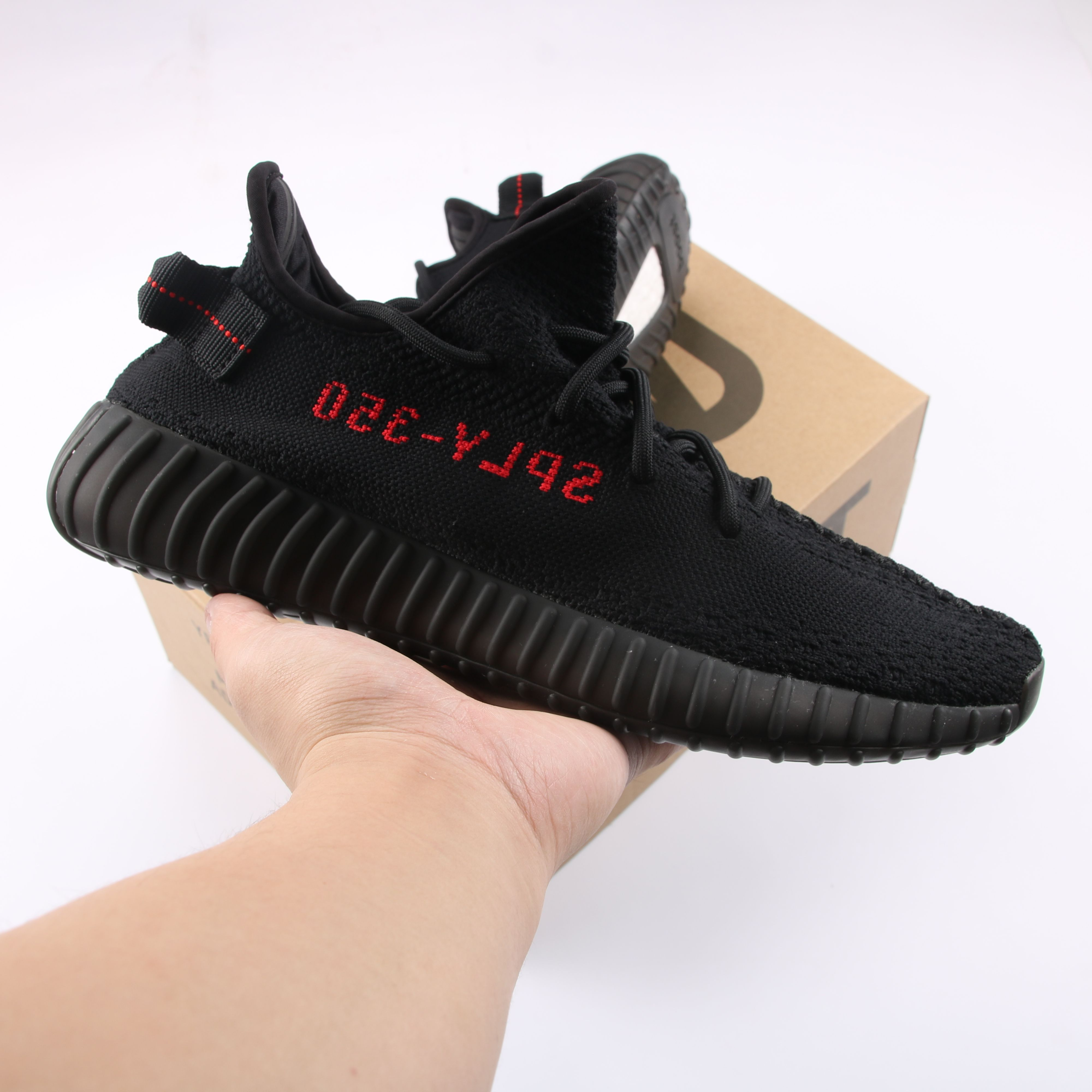 Yeezy Boost 350 V2 Black Red Cp9652 Yeezy Yeezy Boost Black