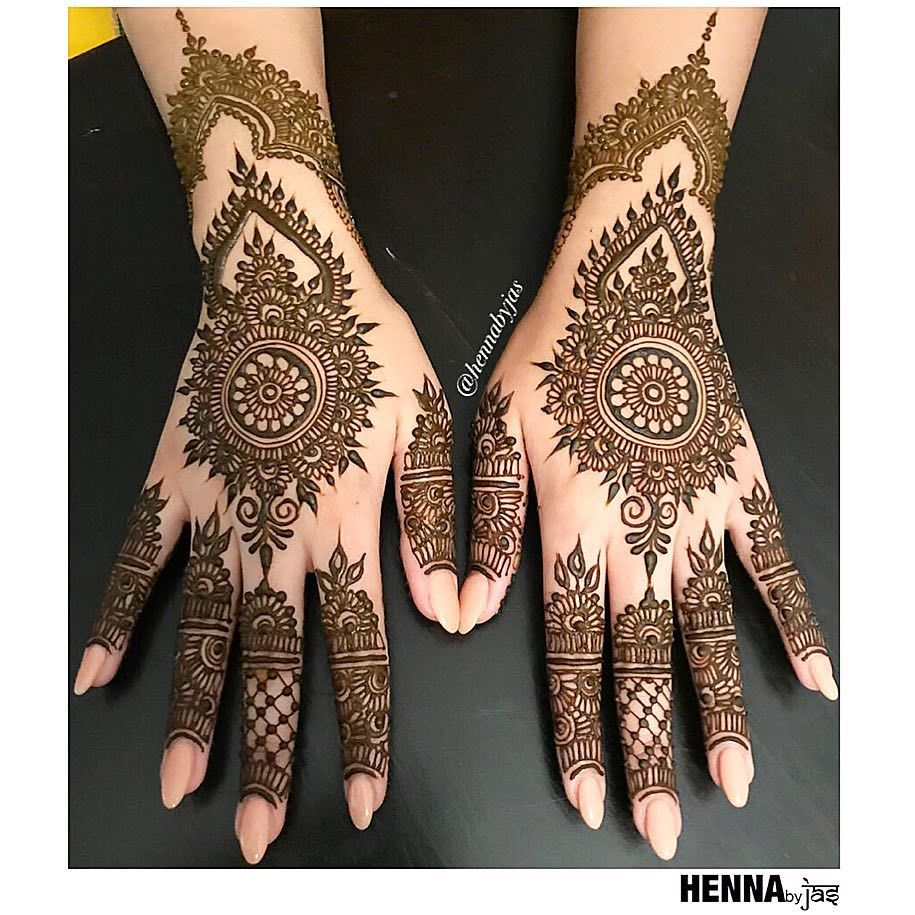Henna By Jas Simple Bridal Henna For A Sweet Bride Maryam