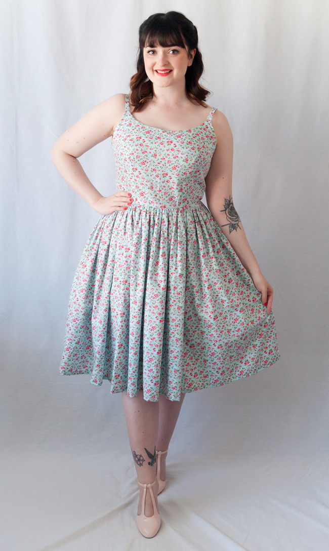 Butterick Patterns by Gertie B6453 - The Ultimate Retro Summer Dress ...