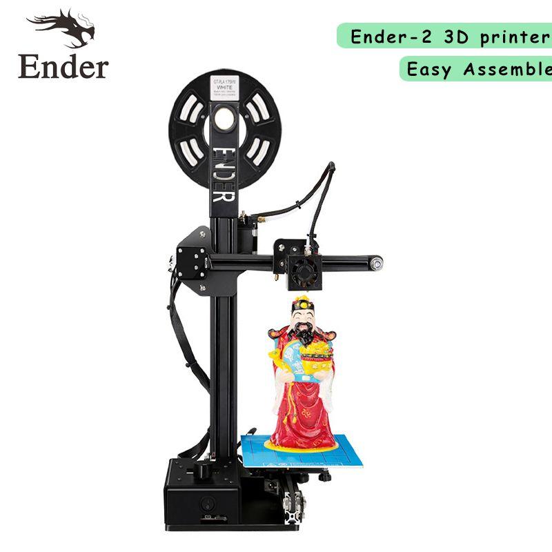 2017 Newest Ender-2 3D printer DIY KIT Reprap prusa i3 Full Metal ...