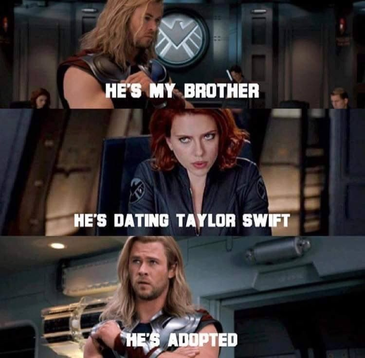 Taylor Swift and Thor