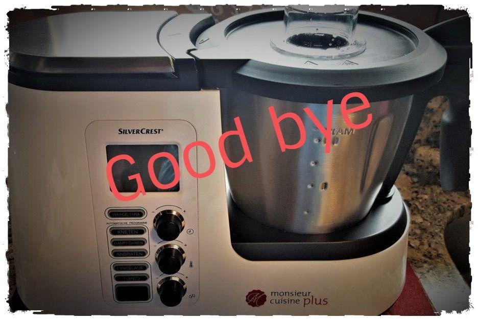 Good bye Monsieur Cuisine Plus \u2013 Welcome Moulinex Cuisine Companion - silver crest küchenmaschine