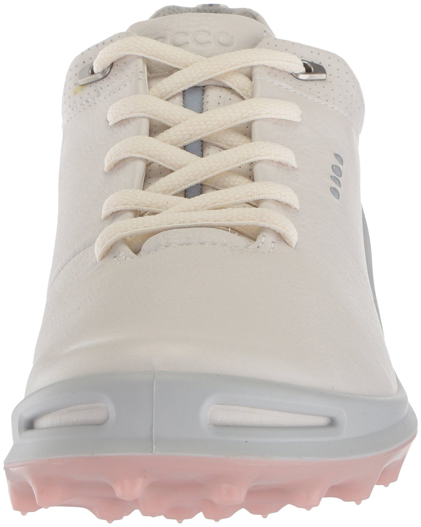 b45a2aec2635 ECCO Womens Cage Pro GoreTex Golf Shoe White Silver Pink 37 M EU 66.5 US      Find out more about the great product at the image link.