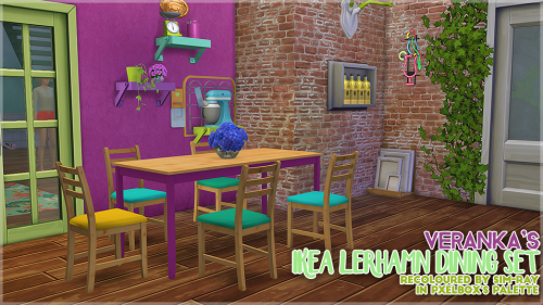 http://sim-ray.tumblr.com/post/146665678239/recolour-of-verankas-ikea-lerhamn-dining-set-in