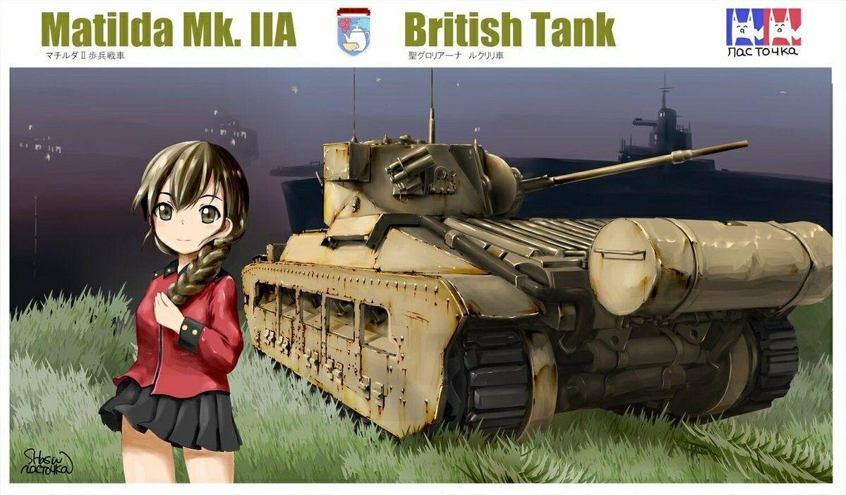 Girls und Panzer British tank, War, World war ii