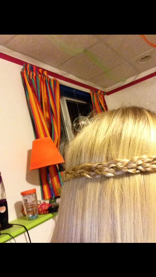 Simple cute hair style