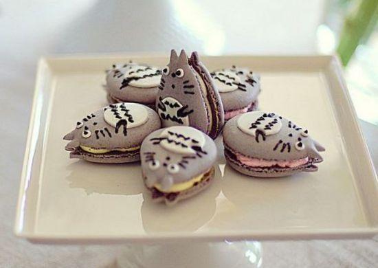 //Totoro Macaron! Too cute to be eaten!//