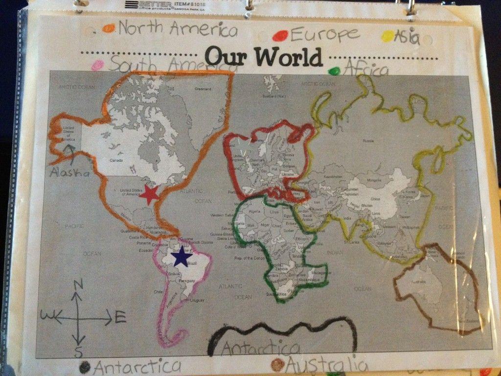 World Geography Unit From A 2nd Grade Teacher