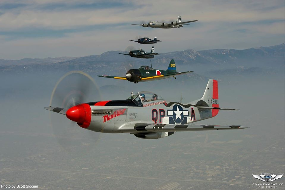 the Commemorative Air Force B29 B24 Squadron
