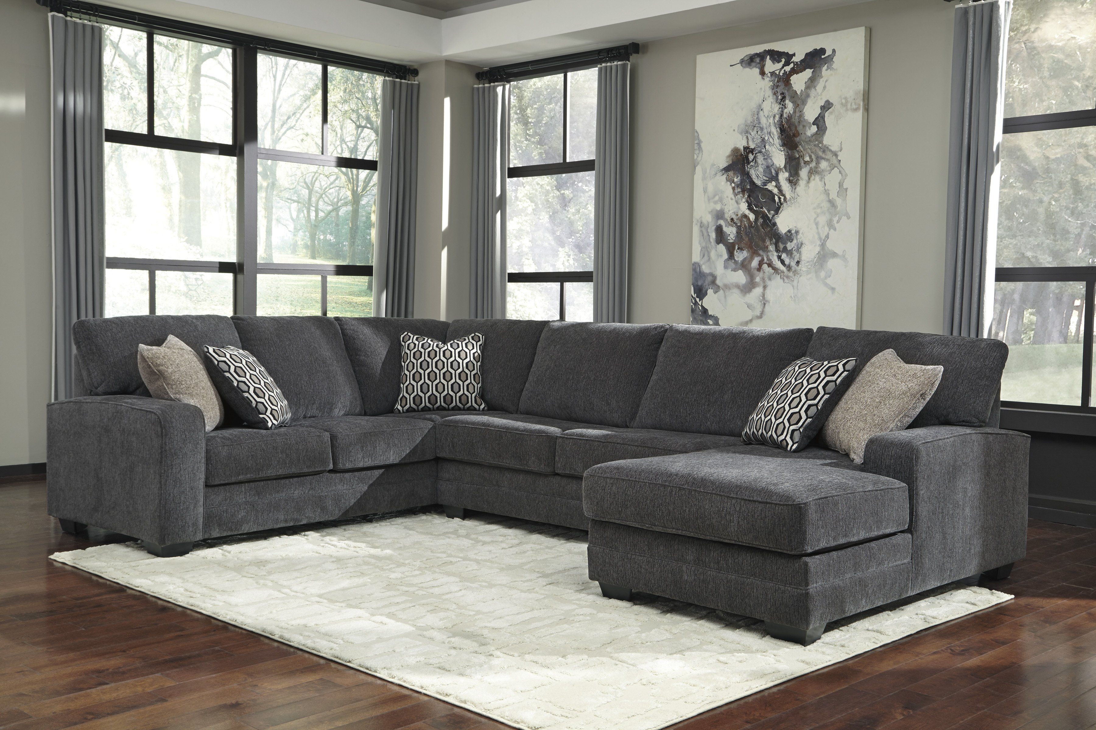 Tracling Sectional Slate In 2019 Room Ideas Home Bar Furniture