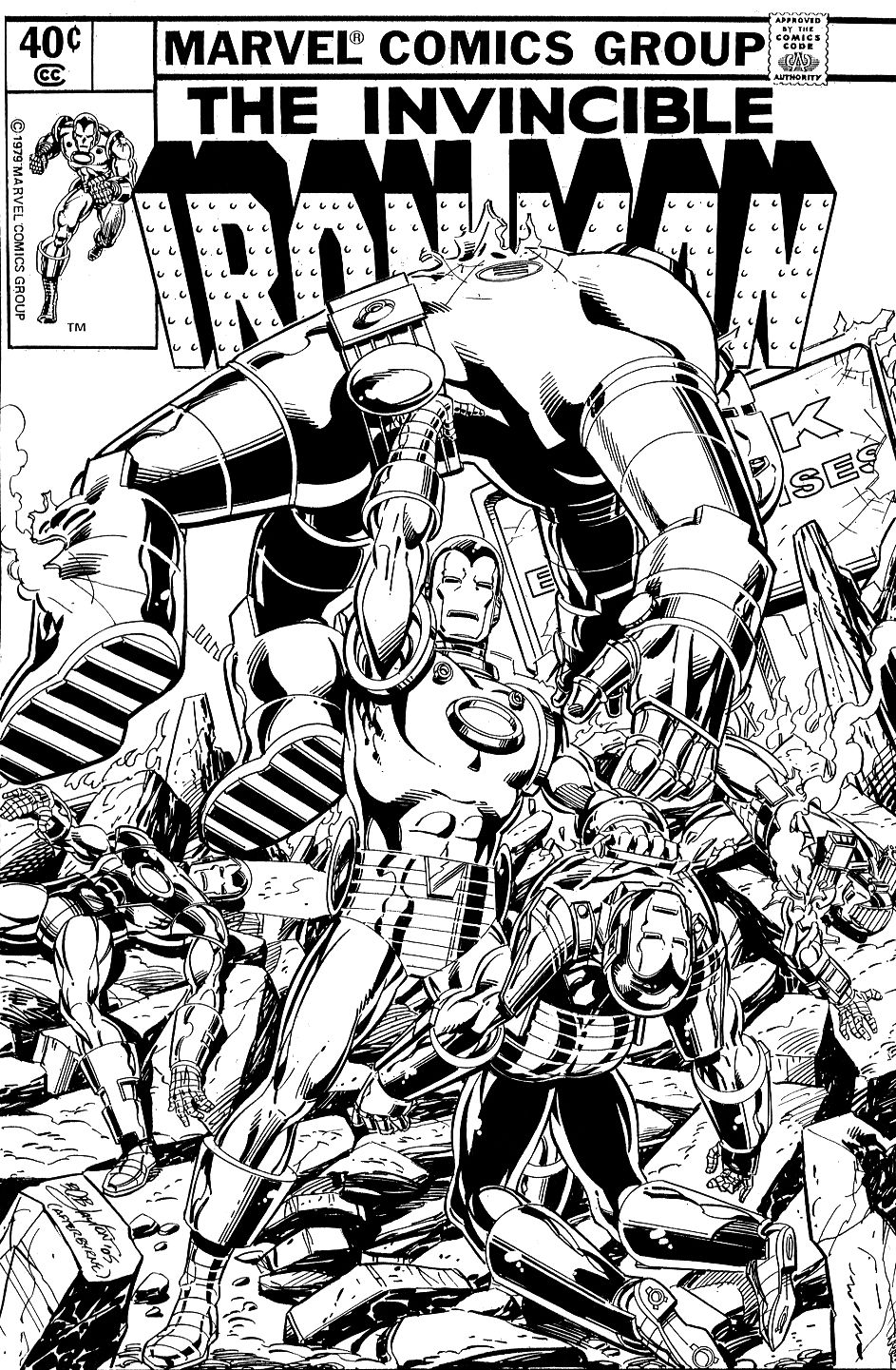 The Marvel Comics Of The 1980s Iron Man Comic Iron Man Drawing Comics