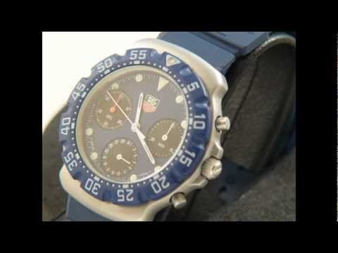 TAG Heuer Formula One F1 Chronograph First Generation Blue