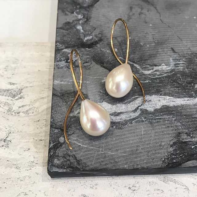 gems earrings jewelry fred pear by conch pearl shaped rare leighton pin pearls pinterest
