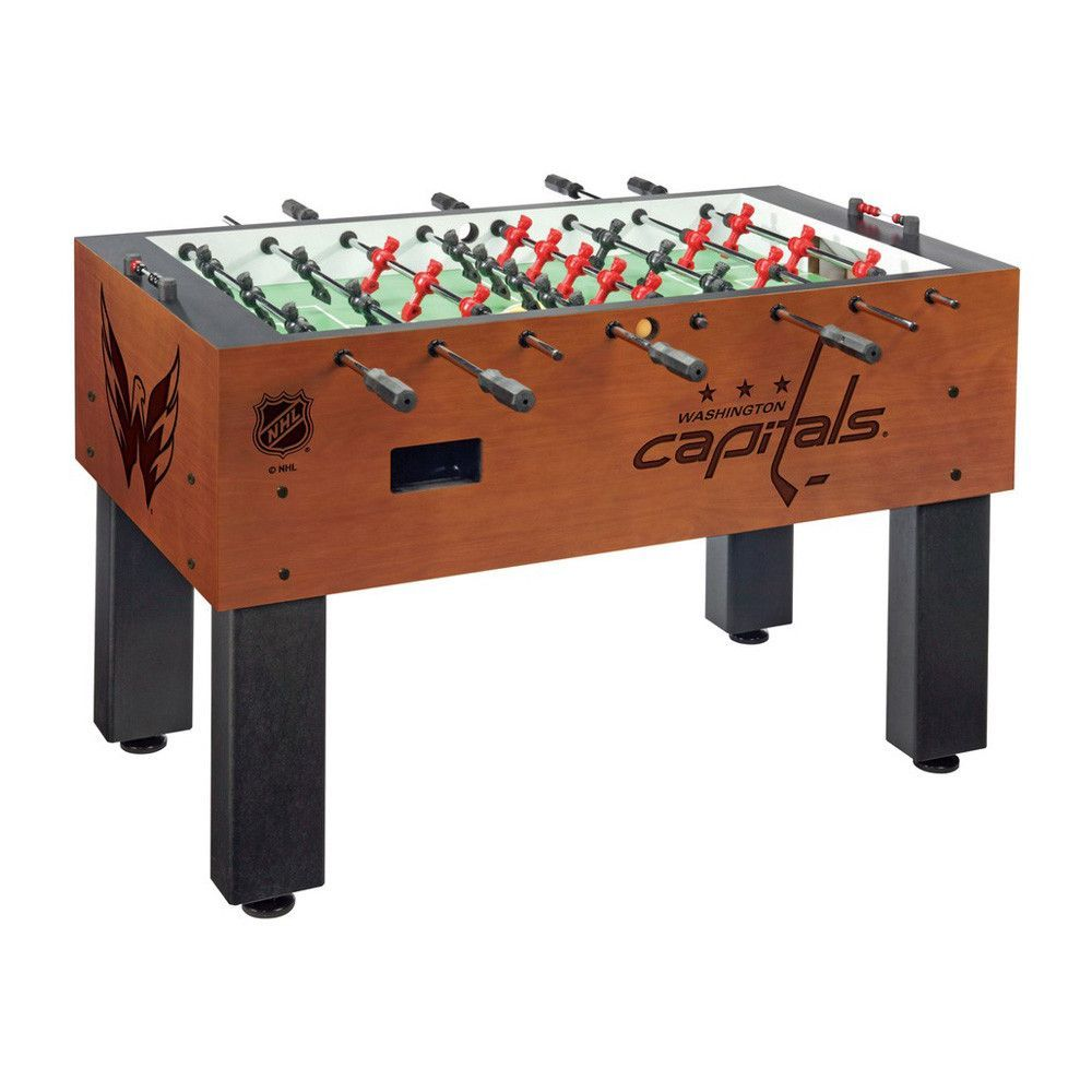 Laser Engraved Washington Capitals Foosball Table Soccer