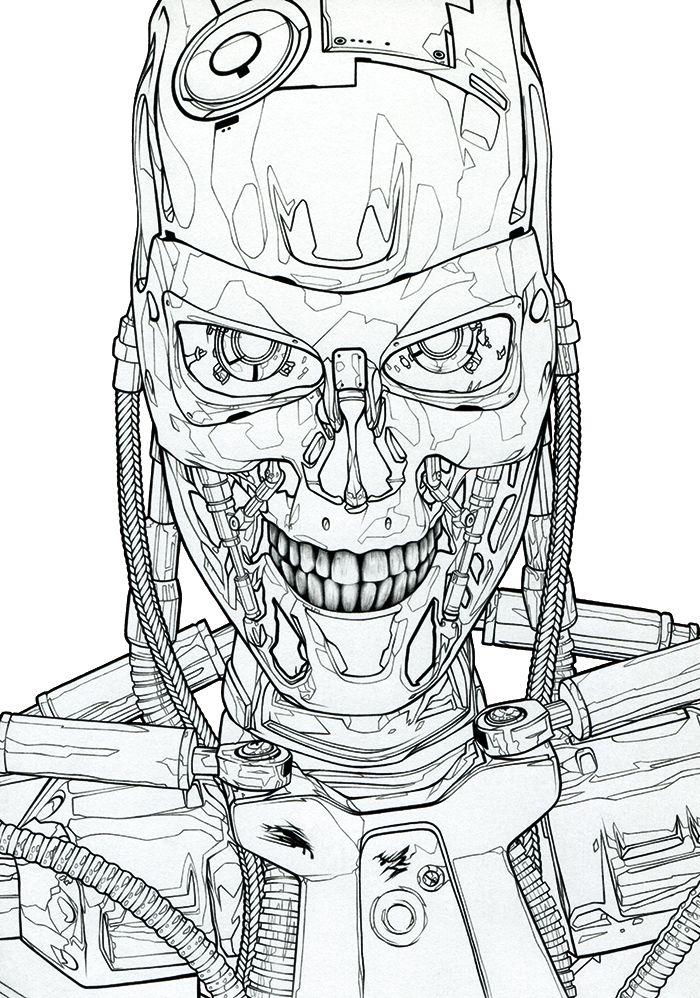 Terminator 2 Poster Dibujos Arte Imajenes
