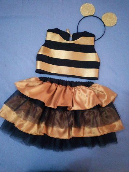 Fantasia Lol Queen Bee No Elo7 Babyperolas F5627f Roupas Tematicas Fantasias Vestidos Infantis