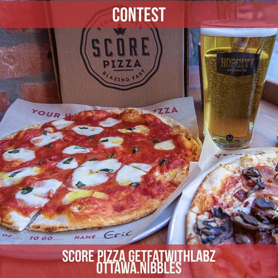 Contest Alert Hey Foodie Family I Have Brought You Guys An Exciting Giveaway From Scorepizza Who Makes Ottawa S Foodie Custom Pizza Love Pizza