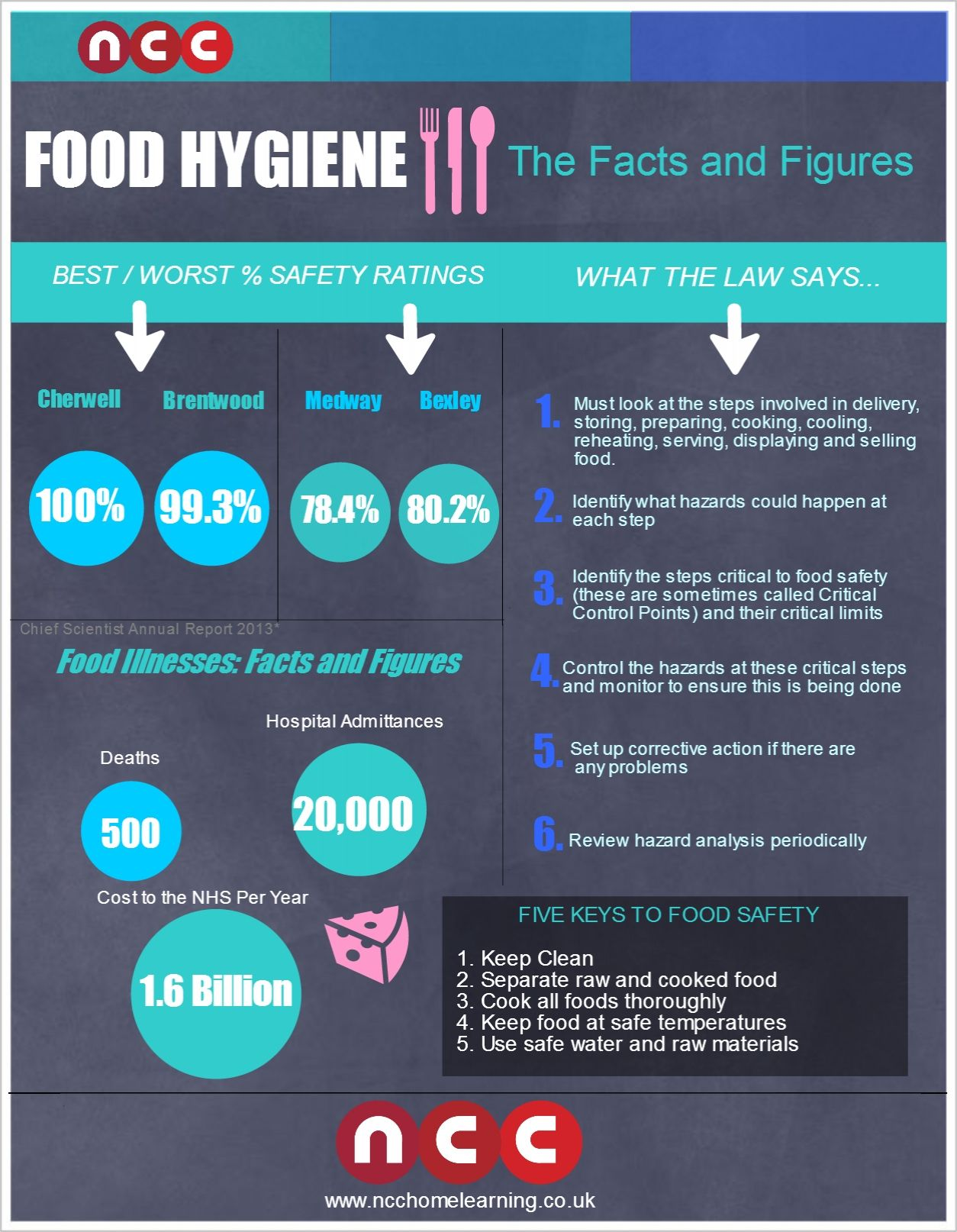 Food Hygiene: Facts and Figures   Visual.ly   ZZA BAR   Pinterest ...