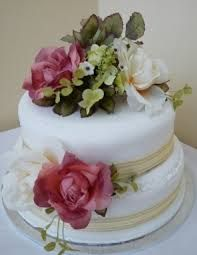 wedding cake shabby chic - Buscar con Google