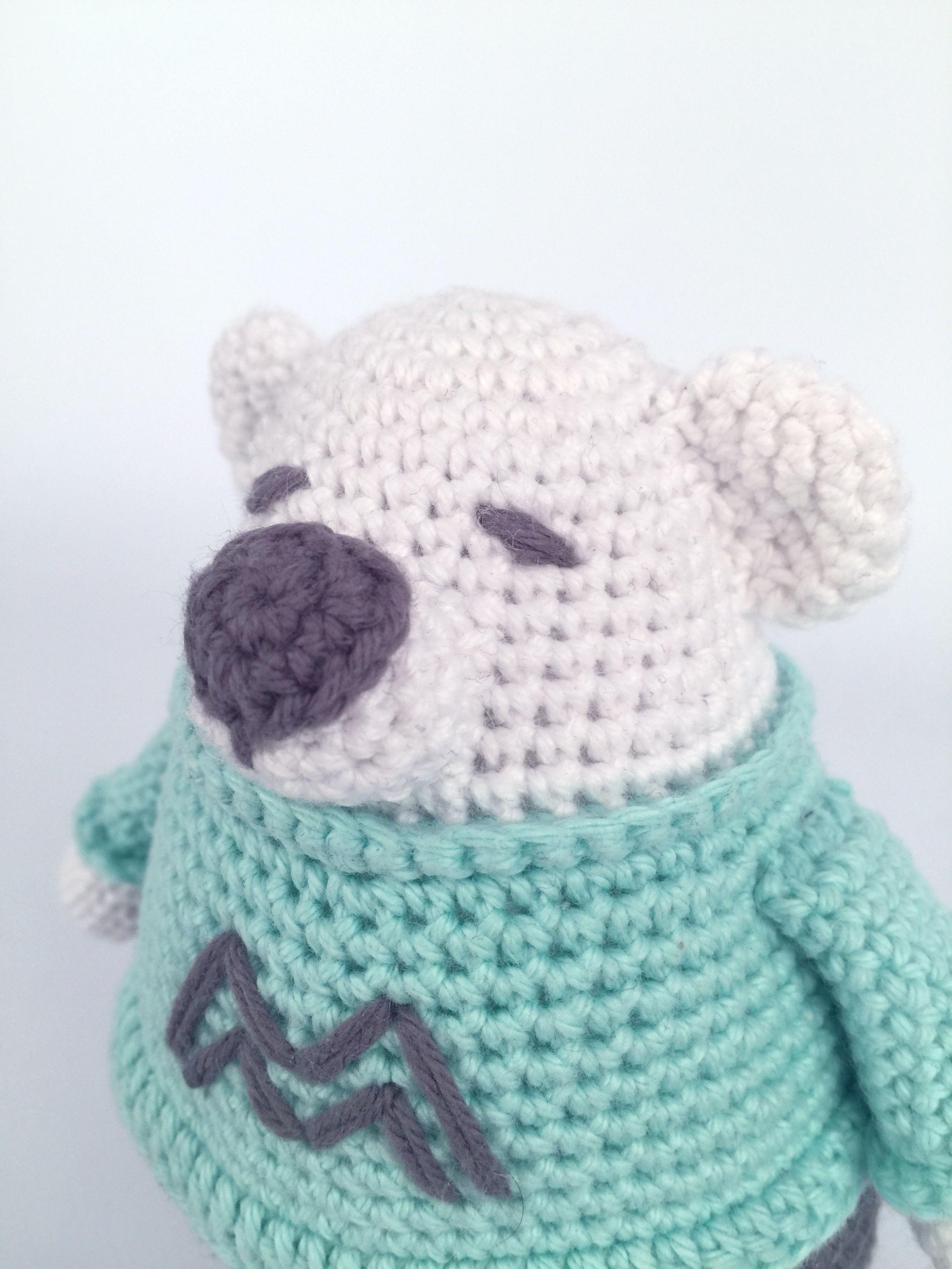 Cara de primer plano | Patrones osos Amigurumis | Pinterest | Primer ...