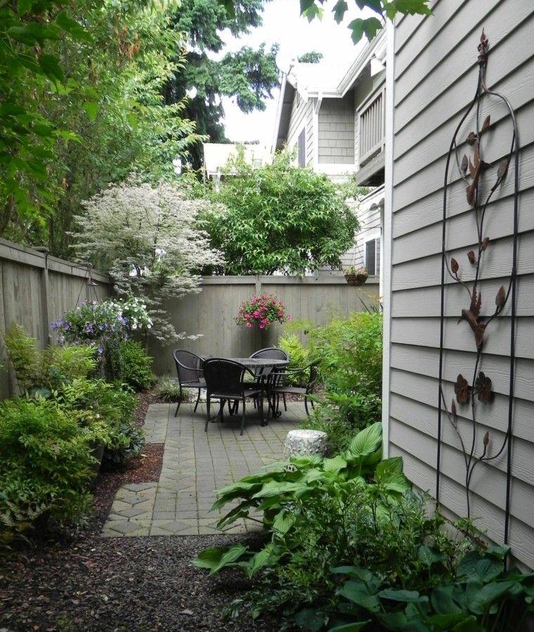 Jardines pequeños y patios traseros de diseño único Patios and Gardens