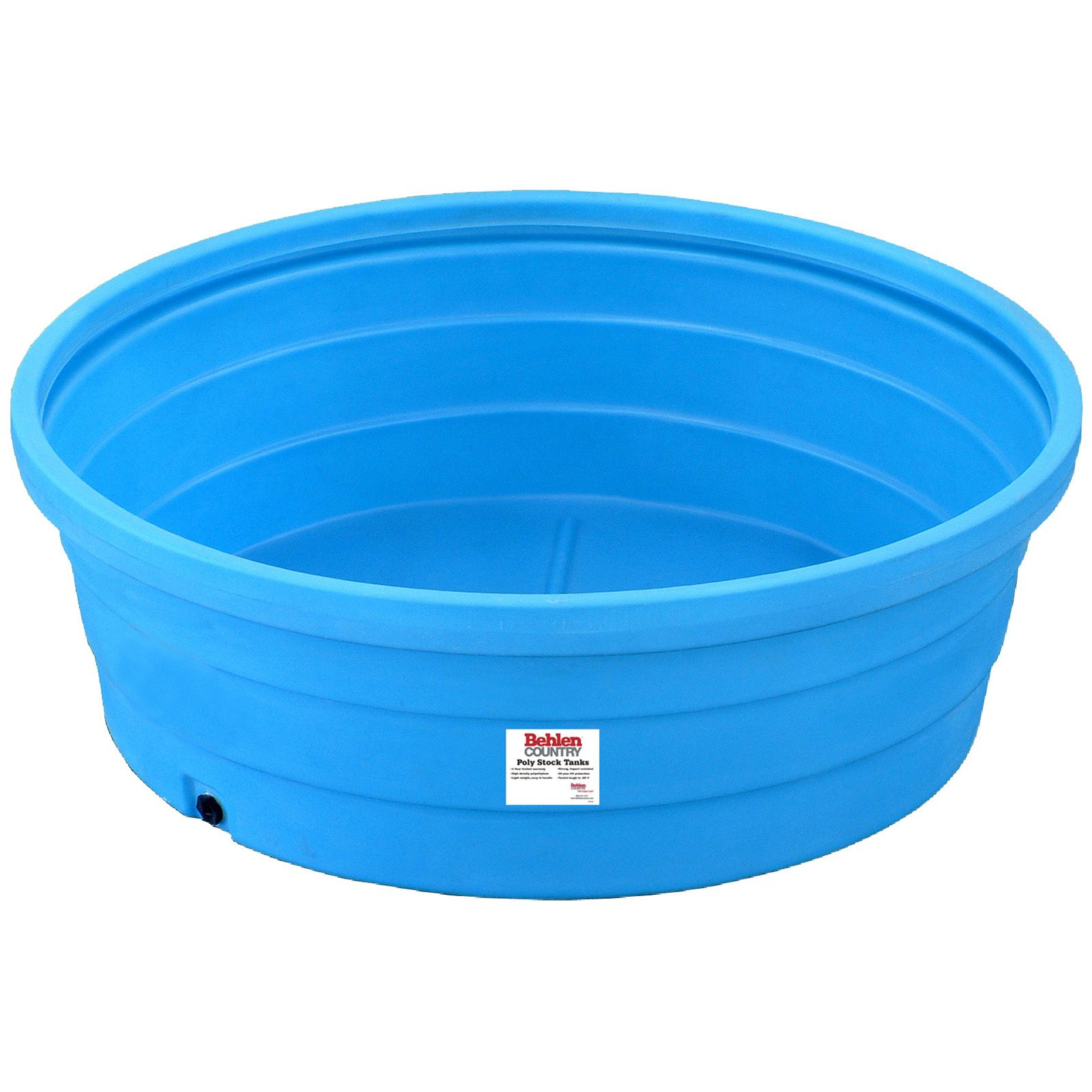 6 poly round tank approx 350 gal stock tank pool
