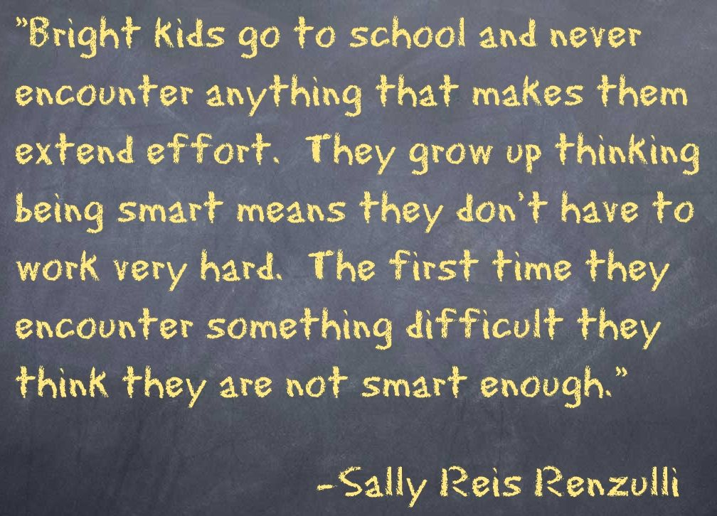 Renzulliquote Gifted Education Kids Going To School Teaching Quotes