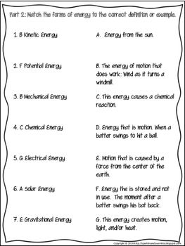 4 2 Force Motion Energy Assessment Energy Assessment Force