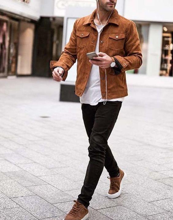 Mode homme: 20 looks à porter des chaussures couleur miel. Consultants en image personnelle.   – My Man & His Style