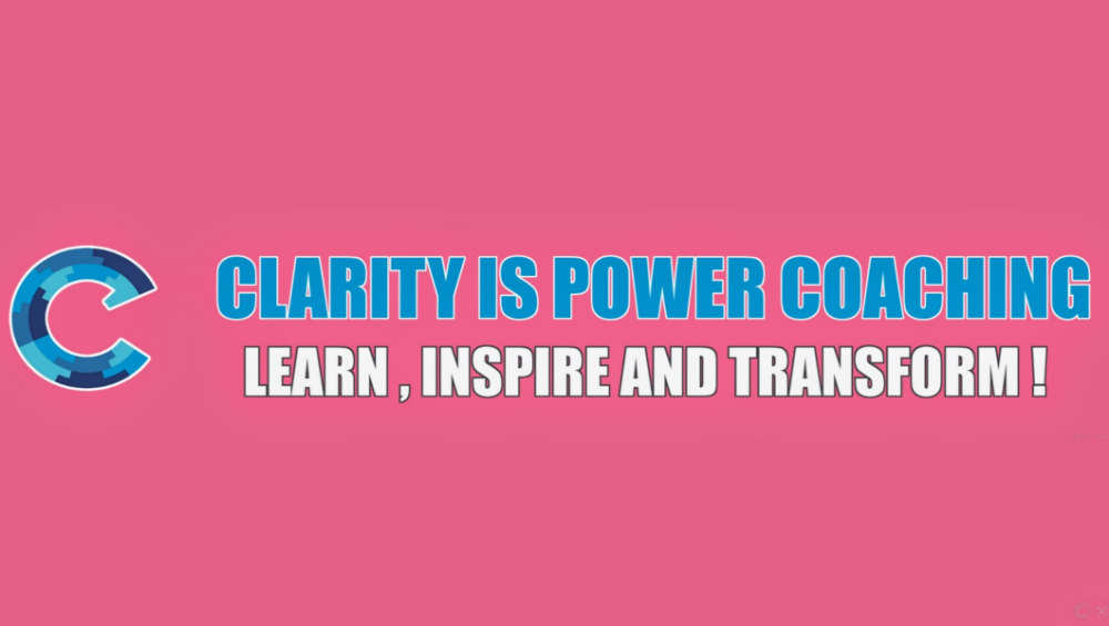 Clarity Coaching Transforming Lives YouTube