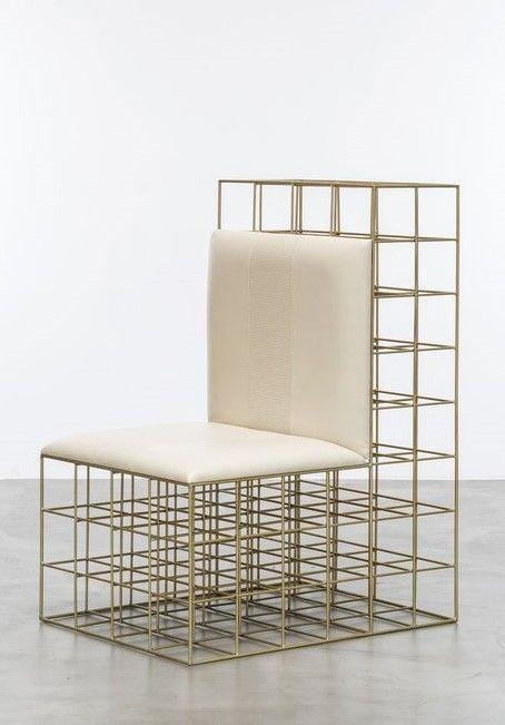 Pleasing The Throne Chair By Sho Modern Metallic Chair Gold Inzonedesignstudio Interior Chair Design Inzonedesignstudiocom