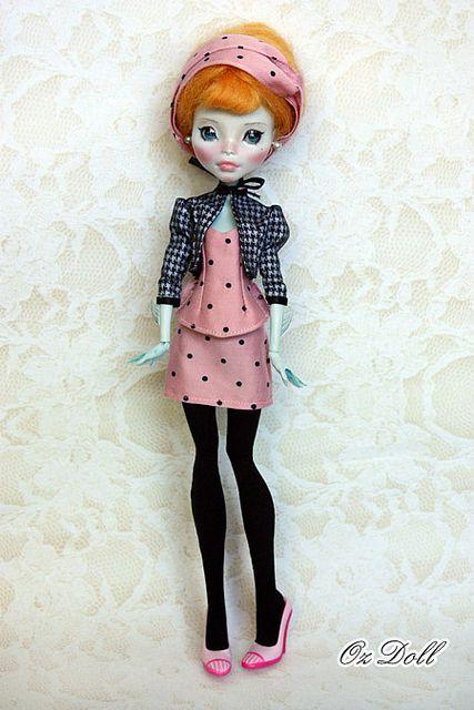 Custom Monster High OOAK Doll Lagoona Blue