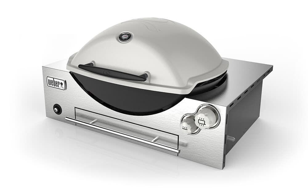 Weber Q 3200 Gas Grill Outdoor Kitchen Design Outdoor Kitchen Built In Bbq
