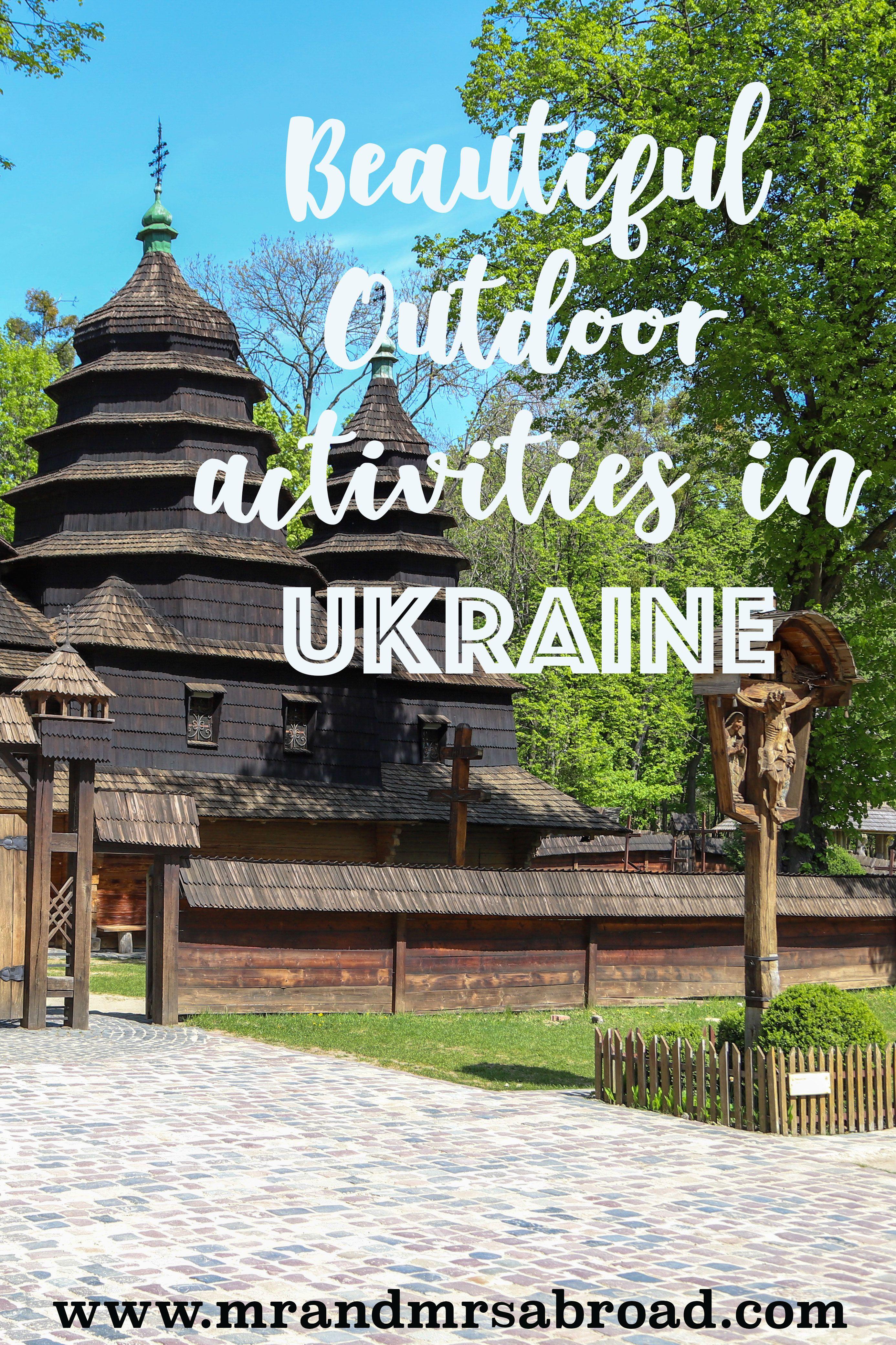 Beautiful Nature In Western Ukraine Https Mrandmrsabroad Com Visitukraine Outdoor Activities Explore Nature Activities